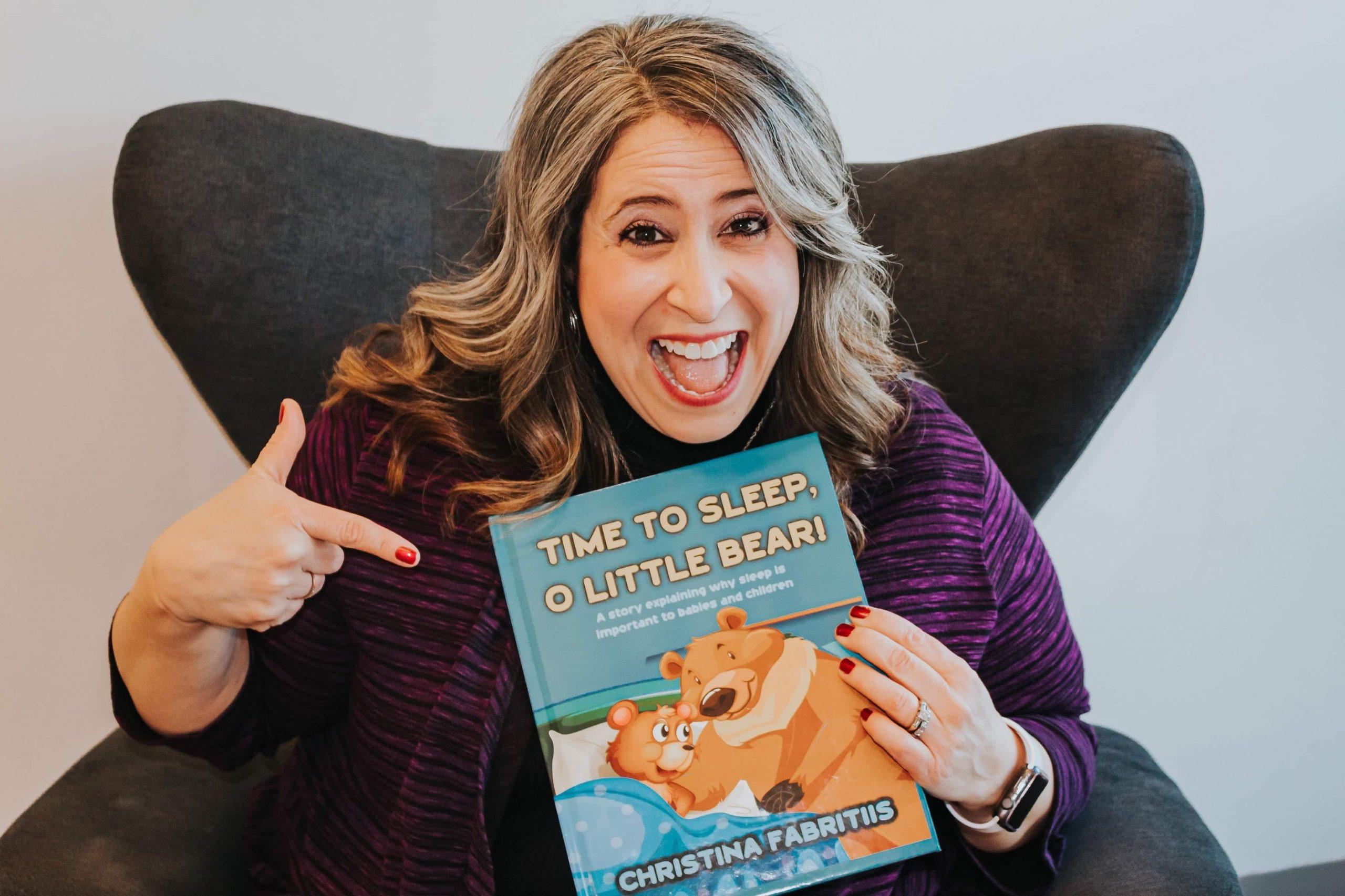 Time to Sleep O Little Bear by Christina Fabritiis | Sleep Solutions Book